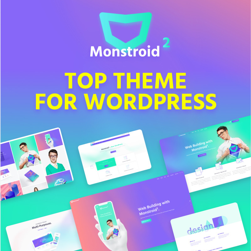 Monstroid2 - Multipurpose Modular Elementor WordPress Theme