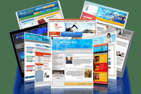 какие бывают виды сайтов