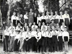 """Пионерский лагерь """"Радуга"""" 1976 год"""