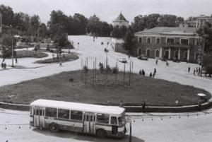 Центральная площадь Кыштым 70-х