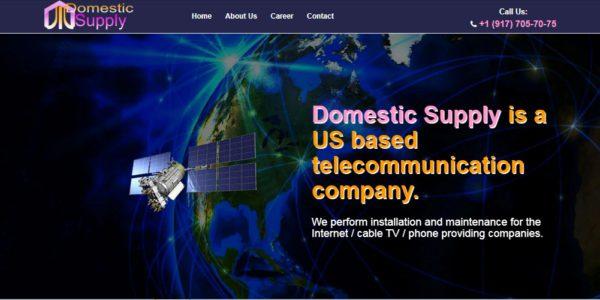 сайт проводки телекоммуникаций США