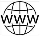 черно-белый логотип для сайта