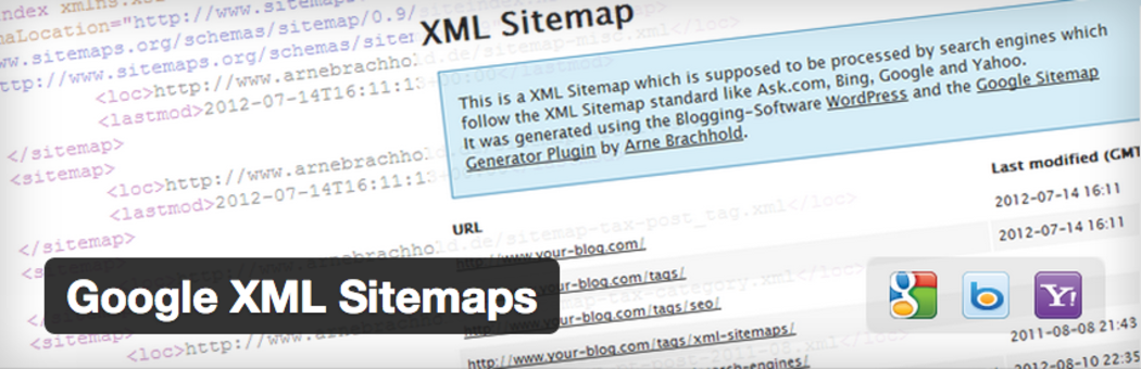 Google XML Sitemaps - WordPress sitemap generator plugin.